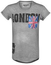 Trueprodigy Flag Tee T-paita tummanharmaa