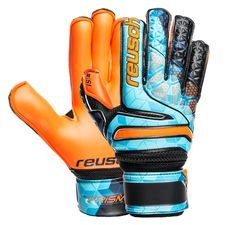 Reusch Maalivahdin Hanskat Prisma S1 Evolution Finger Support Junior LTD - Sininen/Musta/Oranssi Lapset