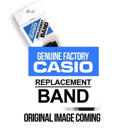 Black resin strap for Casio W-756-1A
