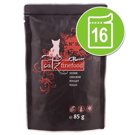 Catz Finefood Purrrr Pouch -säästöpakkaus: 16 x 80/85 g - No. 111 karitsa (16 x 85 g)