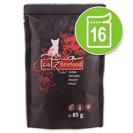 Catz Finefood Purrrr Pouch -säästöpakkaus: 16 x 80/85 g - No. 107 - kenguru (16 x 85 g)
