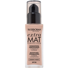 Deborah Extra Mat Perfect Foundation 30 ml No. 001