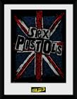 Framed collectors print - Music - Sex Pistols Flag - Merchandise
