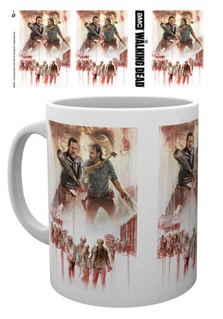 Mug - TV - The Walking Dead Season 8 Illustration - Merchandise