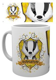 Mug - Harry Potter - Hufflepuff Paint - Merchandise