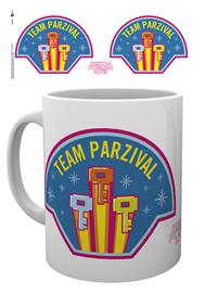 Mug - Movies - Ready Player One Team Parzival - Merchandise