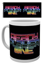 Mug - Movies - Ready Player One Neon Logo - Merchandise