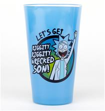 Glass - TV - Rick and Morty Wrecked - Merchandise