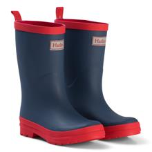 Navy & Red Rain Boots22 (UK 6)