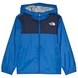 Blue and Navy Zipline Waterproof Rain JacketXS (6 years)