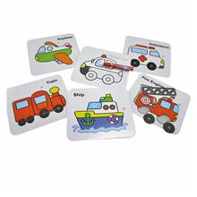 Puzzle and Colouring Vehicles