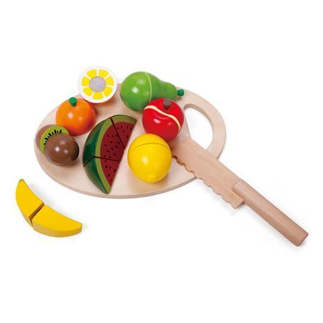 Leikkiruoka Leikkuulauta hedelmillä