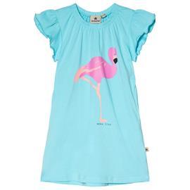 Dress Flamingo Blue80/86 cm