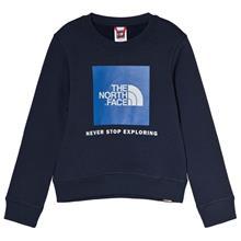 Navy Branded Box Crew SweaterXS (6 years)