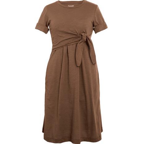 Suki dress brown sugar