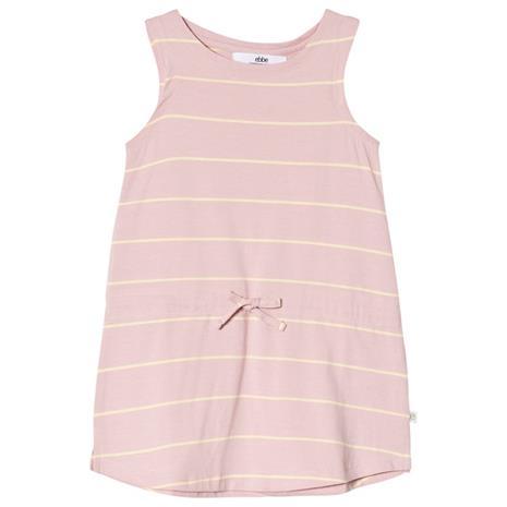 Silva dress Pale pink/sun stripe98 cm