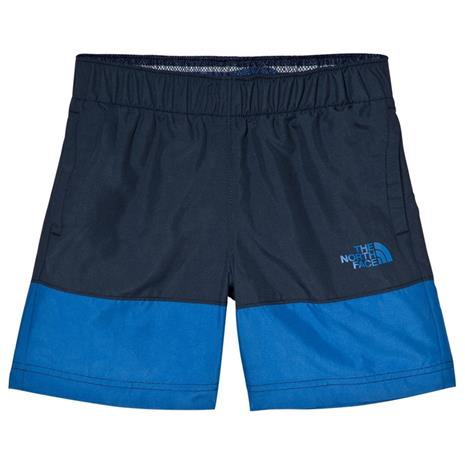 Navy and Blue Water Reactive UPF 50 Swim ShortsXS (6 years)