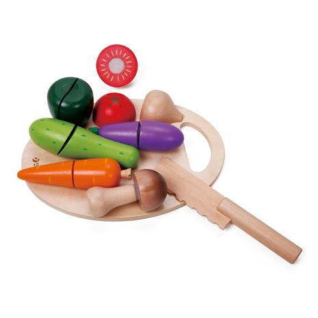 Playfood, Cutting board with vegetables