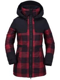 Volcom Comox Ins Jacket red Naiset