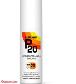 Riemann P20 SPF20 100 ml aurinkosuojaspray