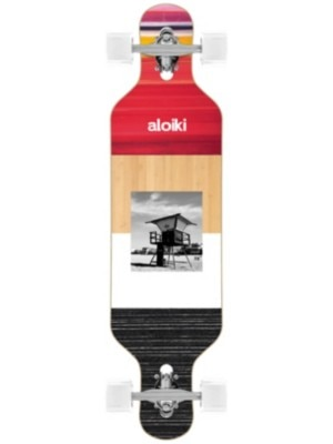 "Aloiki Longboards Redwatch 36"""" FS Mini Drop Complete uni"