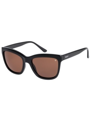 Roxy Jane Polarized Shiny Black brown hd polarized Naiset