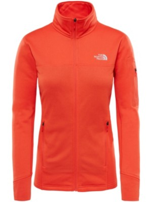 THE NORTH FACE Kyoshi Fleece Jacket fire brick red heather Naiset