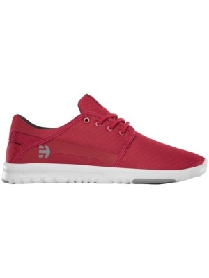 Etnies Scout Skate Shoes red / white / grey Miehet
