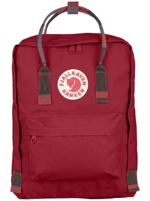 Fjällräven Kanken Backpack deep red / random blocked