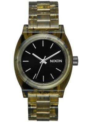 Nixon The Medium Time Teller Acetate olive Naiset