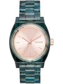 Nixon The Medium Time Teller Acetate aqua Naiset