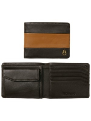 Nixon Arc Bi-Fold Wallet brown / saddle Miehet