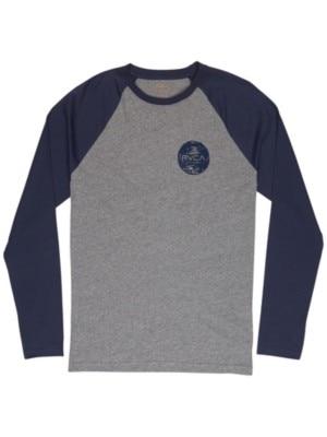 RVCA Motors Chest T-Shirt LS athletic heathe Miehet