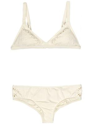 Billabong Cut It Out Fixed Tri Bikini Top seashell Naiset