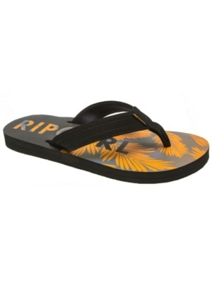 Rip Curl Rippper Sandals Boys black / orange Jätkät