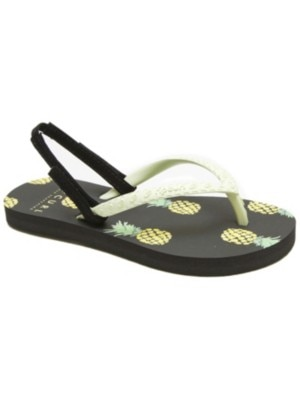 Rip Curl Pineapple Days Sandals Girls lime / charcoal Tytöt