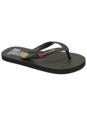 Rip Curl Graphic Sandals Boys black / red Jätkät