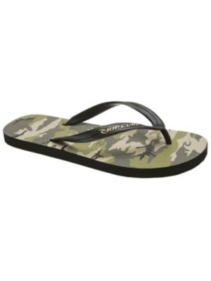 Rip Curl Camo Sandals black Miehet