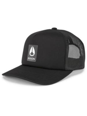 Nixon Badge Foam Trucker Cap black Miehet