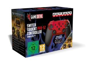 GameDevil Switch Pro-S2 + peli, Nintendo Switch -ohjain