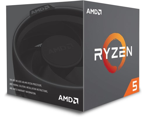 AMD Ryzen 5 2600x, prosessori