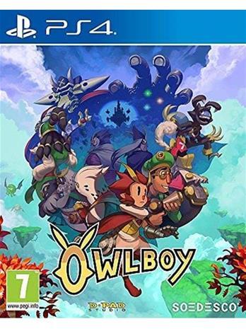 Owlboy, PS4 -peli