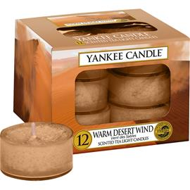 Yankee Candle Warm Desert Wind - Tea Light Candles 118 g
