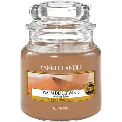 Yankee Candle Warm Desert Wind - Small Jar 104 g