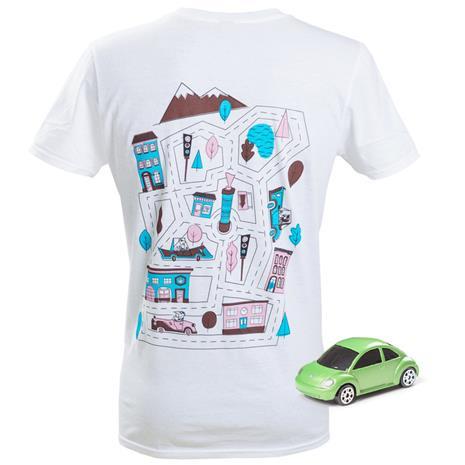 CarTrackZzz, t-paita jossa autorata