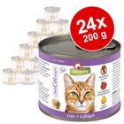 GranataPet DeliCatessen -säästöpakkaus 24 x 200 g - lajitelma: 6 makua