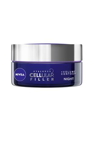 "Nivea ""Cellular Hyaluron Filler +Volume Contour Night 50 ml"""