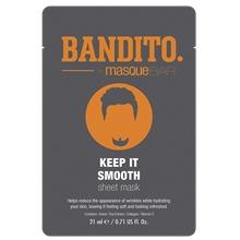 BANDITO Keep It Smooth - Sheet Mask 21 ml