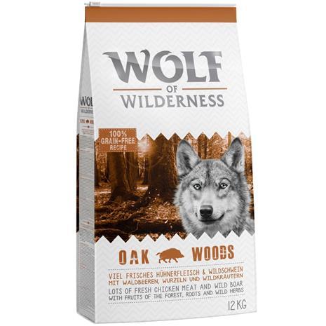 """Wolf of Wilderness Adult """"Oak Woods"""" - villisika - 5 kg"""