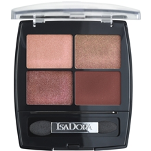 IsaDora Eye Shadow Quartet 5 gr No. 017